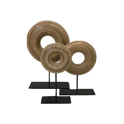 Disc Ornament (Set of 3)