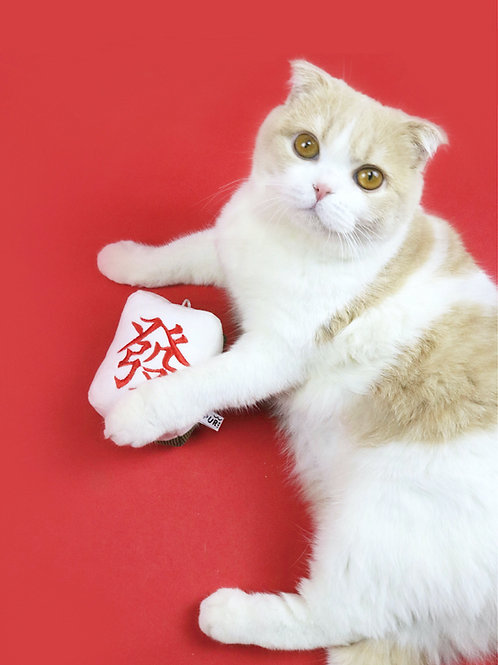Mahjong Catnip Toy