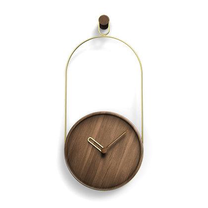 Eslabon Clock (Walnut)