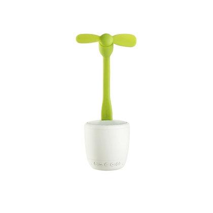 Smart Flower Bud Fan Speaker
