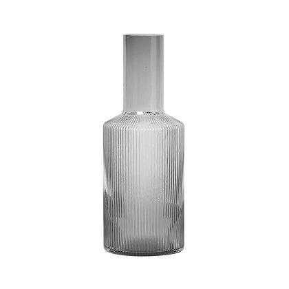 Ripple Jar & Long Drink Glass