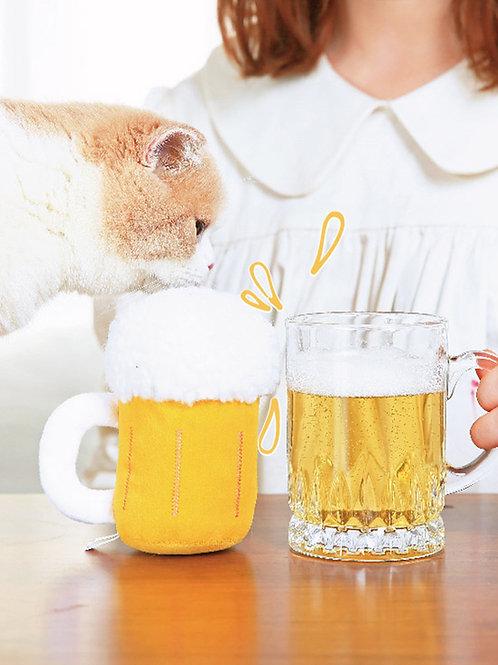 Beer Catnip Toy
