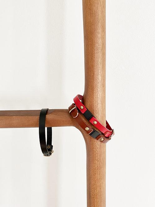 Custom Leather Breakaway Safety Collar