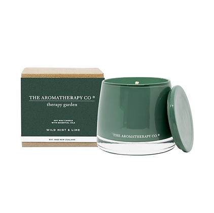 Therapy Garden Candle - Wild Lime & Mint