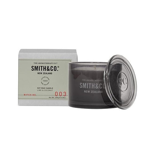 Smith & Co Lime & Coconut Candle