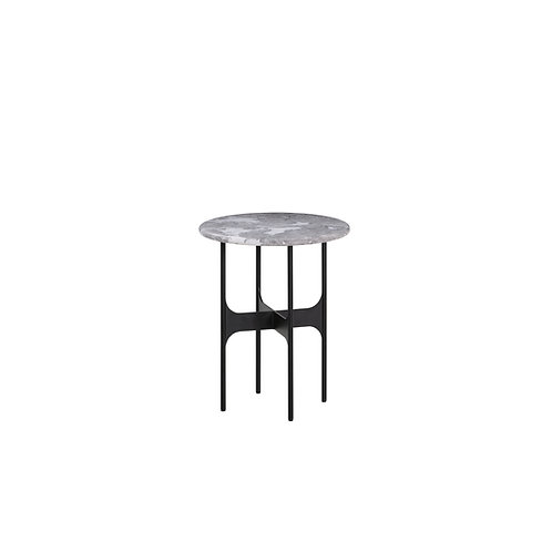 Floema Round Marble Top Side Table