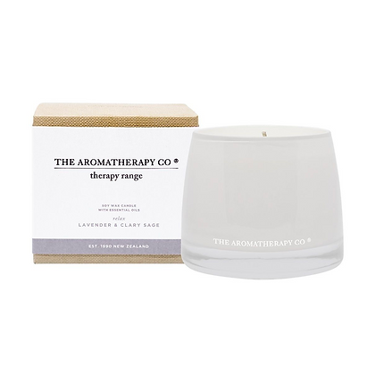 Therapy Lavender & Clary Sage Relax Candle