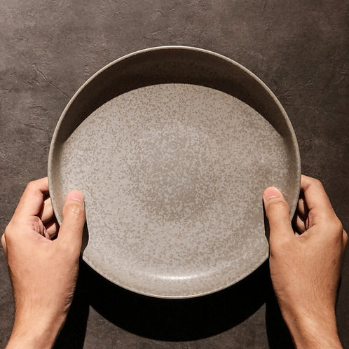 Auberge Medium Flat Bowl