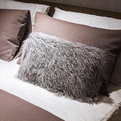 Tibet Lamb Cushion (Rectangle)(Dark Grey)