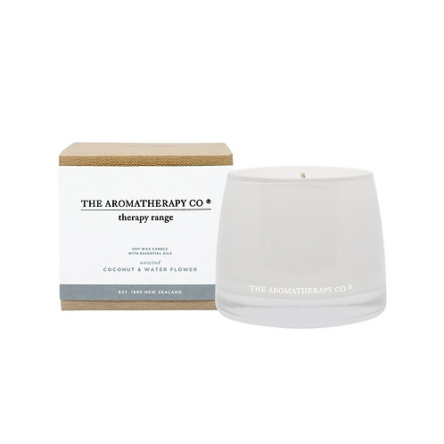 Therapy Coconut & Water Flower Unwind Candle
