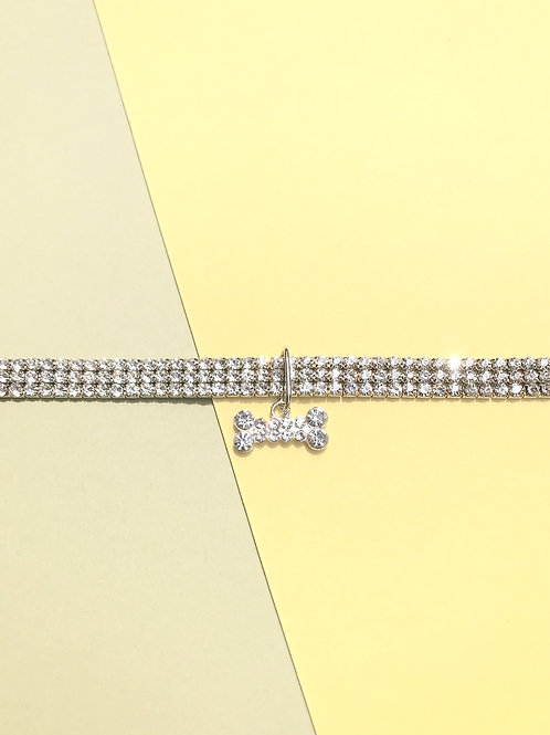 Diamond Choker Collar