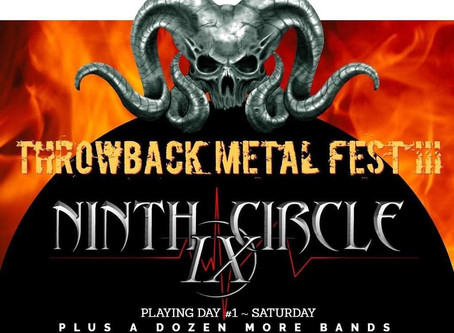 Ninth Circle to perform at Throwback Metal Fest III