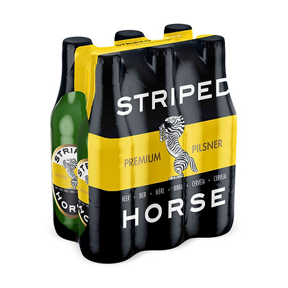 Striped Horse Pilsner (6-pack)