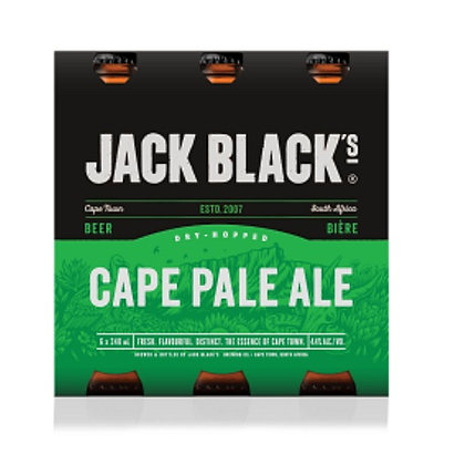 Jack Black Cape Pale Ale (6-pack)