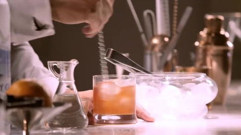 Old Fashioned With Grey Goose