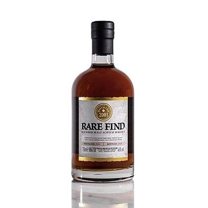 Rare Find Blended Malt Scotch Whisky 2001
