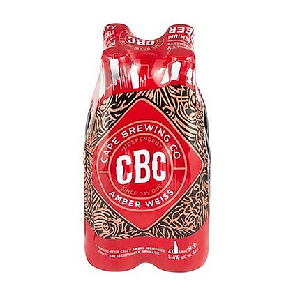 CBC Amber Weiss 440ml (4-pack)