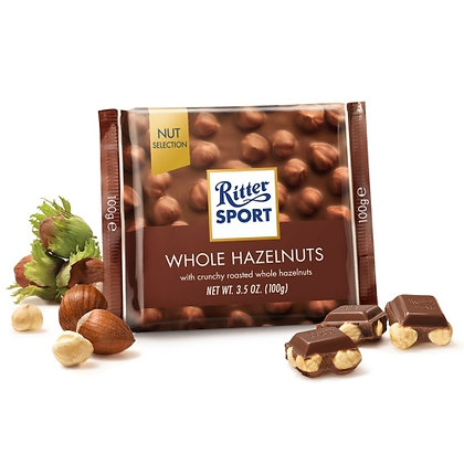 Ritter Sport Hazelnut Chocolate (100gm)