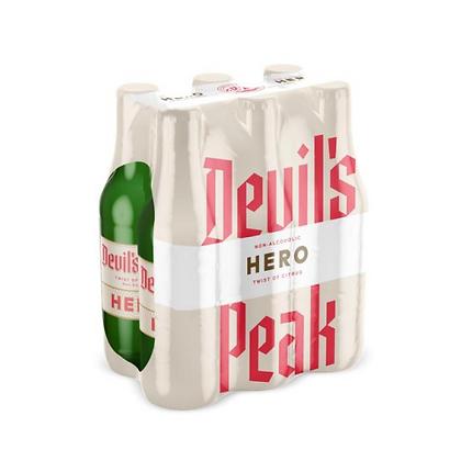 Devil's Peak Hero Twist of Citrus Non-Alc (6-pack)