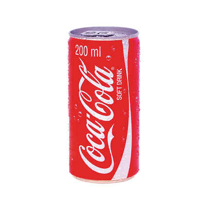 Coca-Cola 200ml Cans (24-case)
