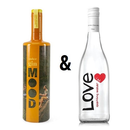 Mood Gin Amber & Love Water Offer