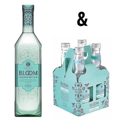 Bloom London Dry Gin + FREE RTD 4-Pack