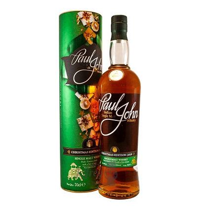 Paul John Christmas Edition Scotch Whisky 2019