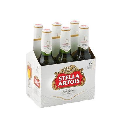 Stella Artois Lager (6-pack)