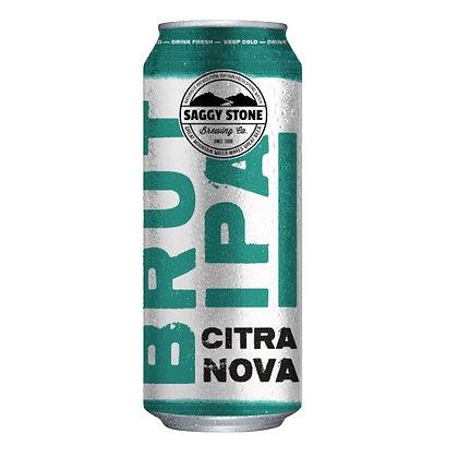 Saggy Stone Brut IPA Citra Nova 500ml (24-case)