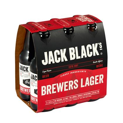 Jack Black Brewers Lager (6-pack)
