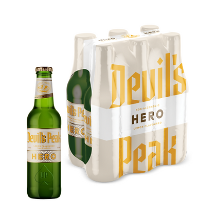 Devil's Peak Hero Lemon Non-Alc (6-pack)