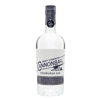 Edinburgh Navy Strength Cannonball Gin