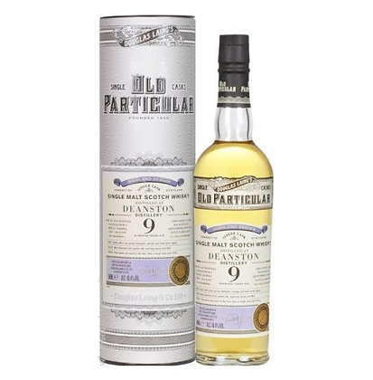 Old Particular Deanston 9 Year Old Whisky
