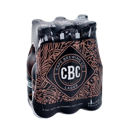 CBC Lager (6-pack)