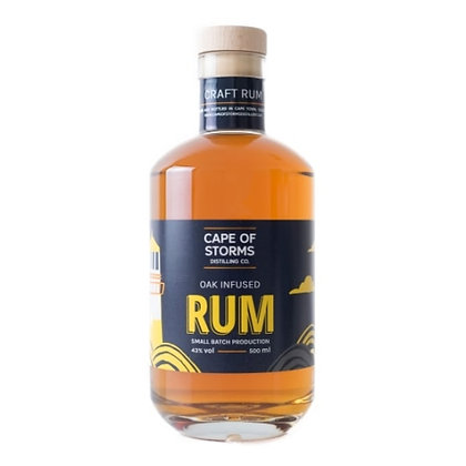 Cape Of Storms Oak-Infused Rum (500ml)