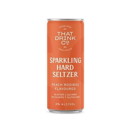 That Drink Co Peach Rooibos Hard Seltzer 250ml (24-case)
