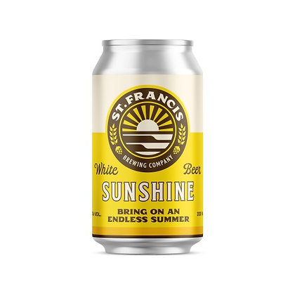 St Francis Sunshine Cans (6-pack)