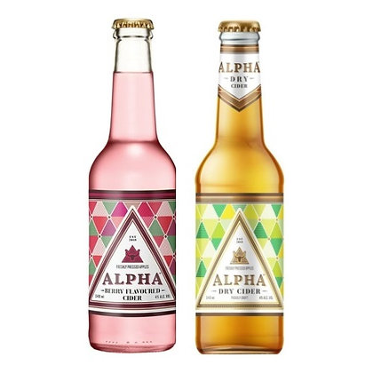Alpha Cider Mixed Case (24-case)