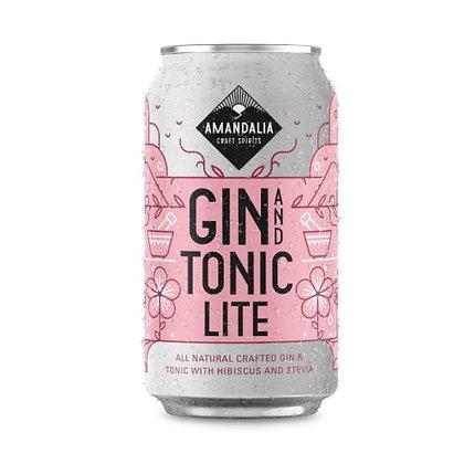 Amandalia Gin & Tonic Lite (24-case)