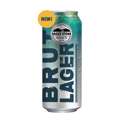 Saggy Stone Brut Lager 500ml (4-pack)