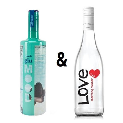 Mood Gin Classic & Love Water Offer
