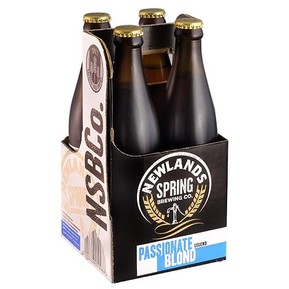 Newlands Spring Passionate Blonde 440ml (4-pack)