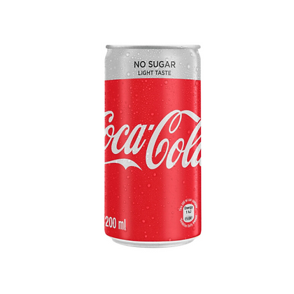 Coca-Cola Light 200ml Cans (24-case)