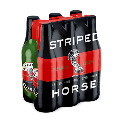 Striped Horse Lager (6-pack)