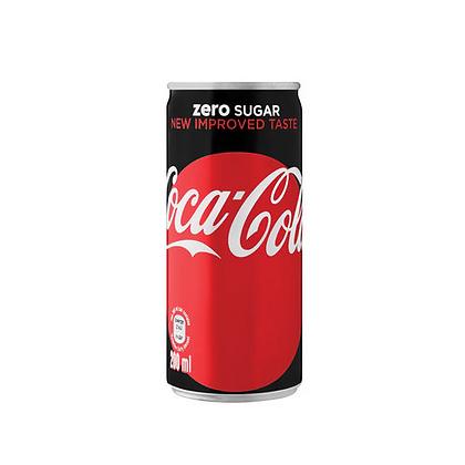 Coca-Cola Zero 200ml Cans (24-case)