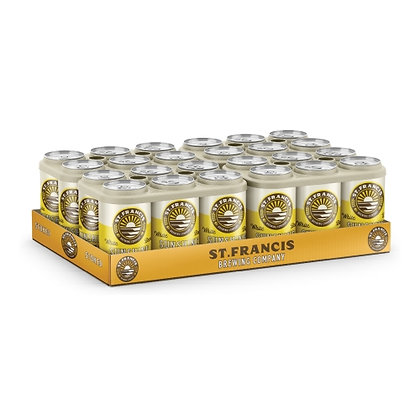 St Francis Sunshine Cans (24-case)
