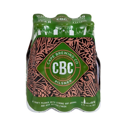CBC Pilsner (6-pack)