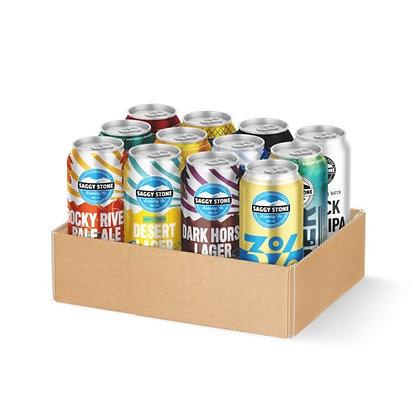 Saggy Stone Tasting Box (12-case)