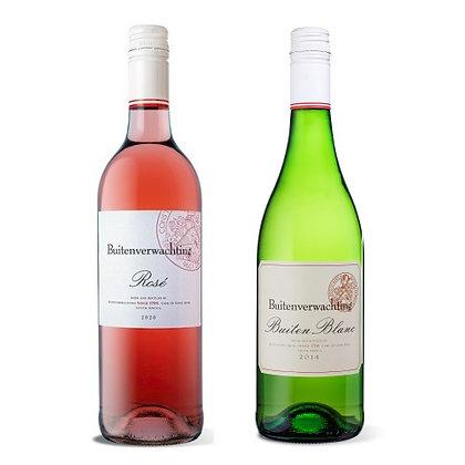 Buitenverwachting Rosé / Buiten Blanc Mixed Case (6-case)