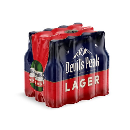 Devil's Peak Lager (12-case)
